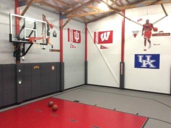 AA Basketball room